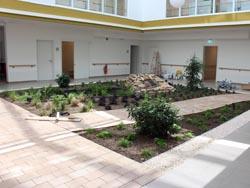 Pflegewohnanlage 'Haus am Hellweg', Unna-Hemmerde, Bürgerhilfe-Atriumhaus, Stationäre Pflege