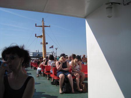 Fahrt nach Norderney