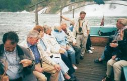 Überfahrt zum Rheinfall