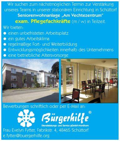 Pflegefachkräfte, Am Vechtezentrum, Schüttorf