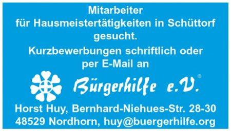 Mitarbeiter für Hausmeistertätigkeiten, Schüttorf