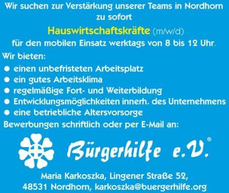 Hauswirtschaftskräfte, Nordhorn