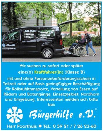 Kraftfahrer, Bürgerhilfe e.V., Nordhorn